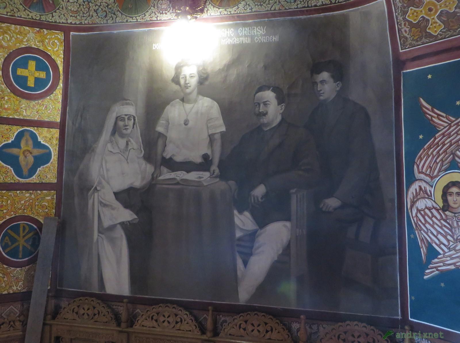 Frescă - familia Erbaşu